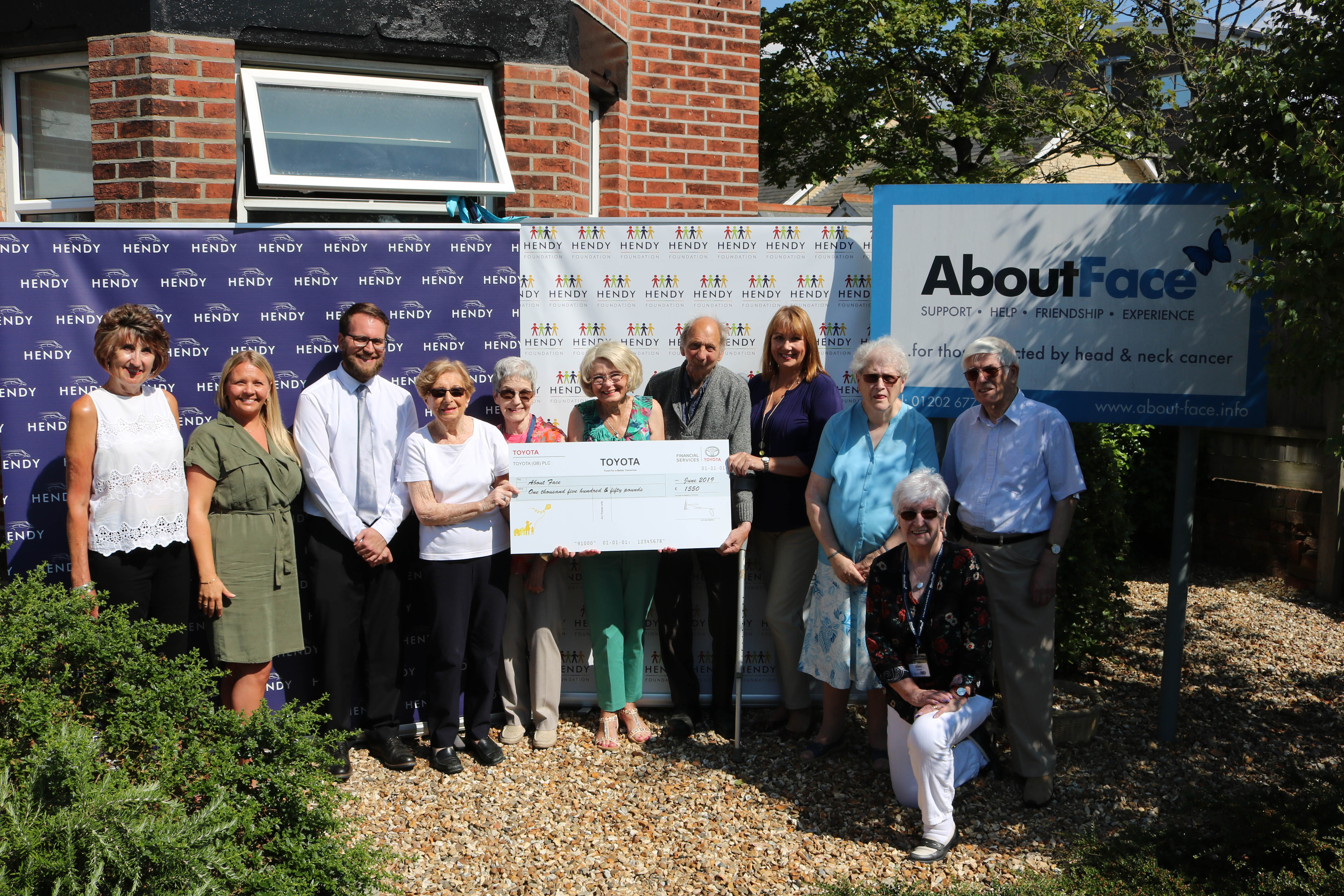 Dorset charity benefits from £1,500 donation image