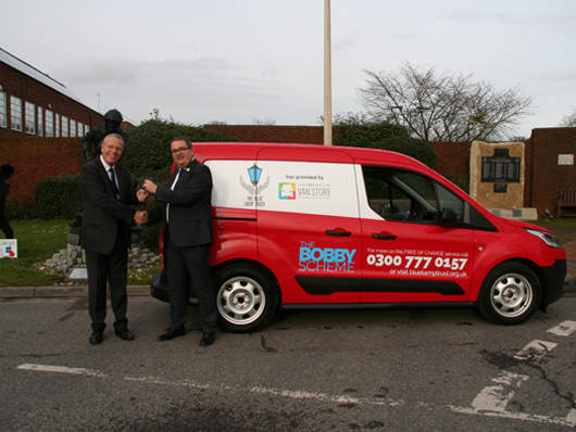 Van donation helps local community safety teams image